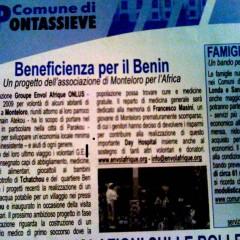 Beneficienza per il Benin