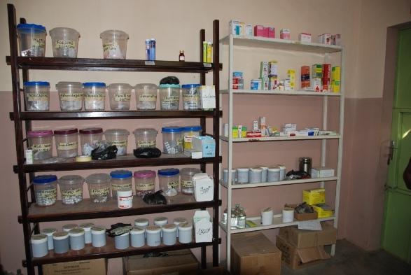 Le medicine portare al dispensario